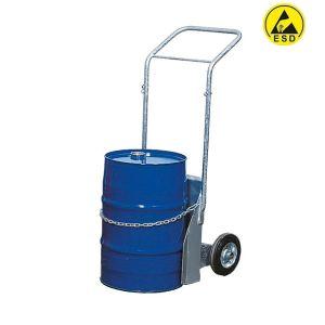Carucior ESD otel zincat butoi 60 litri BK-60
