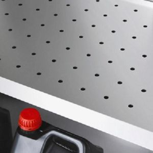 Insertie perforata pentru dulap inox 104.4