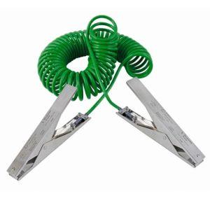Cablu impamantare, 2 clesti HD, 3 m