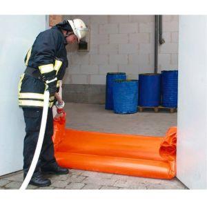 Etansare flexibila pentru usa, pentru umplere cu apa, 8 metri, cu dulap de perete