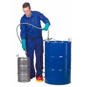Pompa INOX solventi, de picior