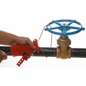 Blocator robineti cablu otel cu vinil