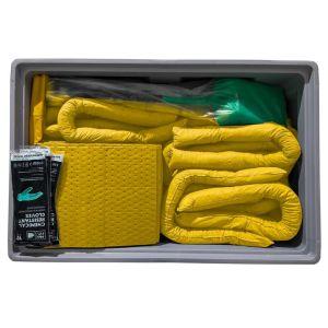 Set urgenta special in cutie de transport cu roti