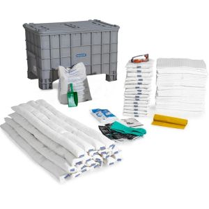 Set urgenta hidrocarburi in cutie cu capac