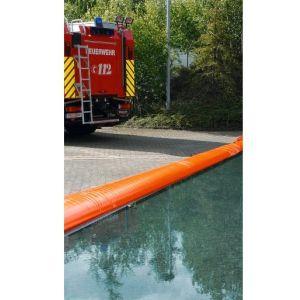 Etansare flexibila pentru umplere cu apa, 15 metri, cu cutie de depozitare