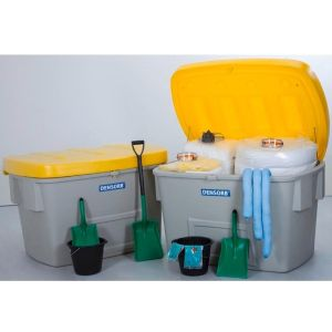 Set urgenta hidrocarburi MAXI XL in 2 cutii de siguranta