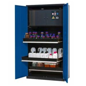 Dulap de depozitare substante chimice multifunctional Systema-Plus-T CS-30 albastru