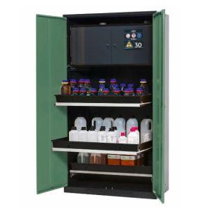 Dulap de depozitare substante chimice multifunctional Systema-Plus-T CS-30 verde