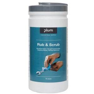 Servetele de curatare umede PLUM Rub&Scrub