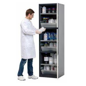 Dulap de depozitare substante periculoase multifunctional Quadro 63-3 alb