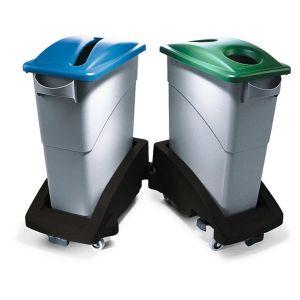 Colector PE deseuri reciclabile 60 litri