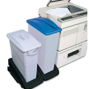 Colector PE deseuri reciclabile 90 litri