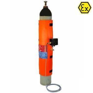 Patura incalzire butelii gaz ATEX HM-GEx cu termostat