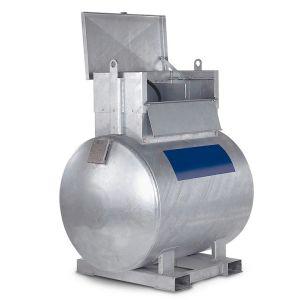 Statie mobila alimentare motorina 1000 l otel 230 V
