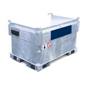 Statie mobila alimentare benzina 330 l otel 230 V