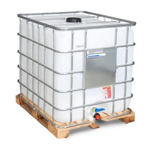 Container tip IBC palet lemn 1000 litri Ø 150