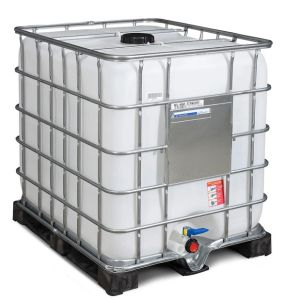 Container tip IBC cu palet PE 1000 litri Ø 150
