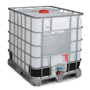 Container tip IBC palet otel 1000 litri Ø 150
