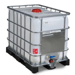 Container IBC-UN cu palet PE 600 litri Ø 150
