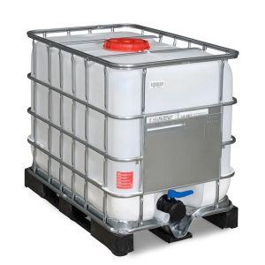 Container IBC-UN cu palet PE 600 litri Ø 225