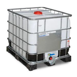 Container IBC-UN cu palet PE 800 litri Ø 150