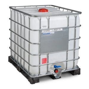Container IBC-UN cu palet PE 1000 litri Ø 150