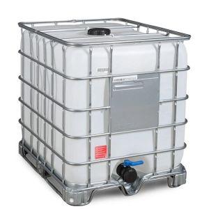 Container IBC-UN cu palet cadru 1000 litri Ø 150