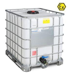 Container ATEX tip IBC-UN palet cadru 1000 litri Ø 225