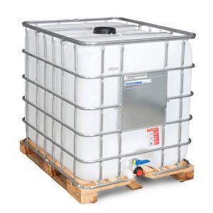 Container IBC reconditionat palet lemn 1000 litri Ø 150