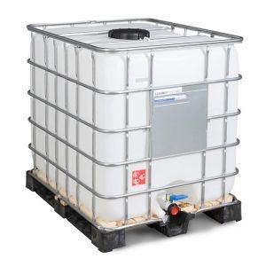 Container IBC reconditionat palet lemn 1000 litri Ø 225