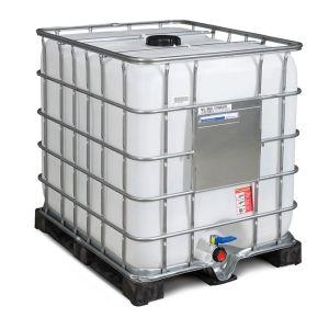 Container IBC reconditionat palet PE 1000 litri Ø 150