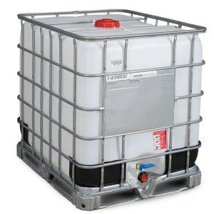Container IBC reconditionat palet otel 1000 litri Ø 150