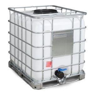 Container IBC reconditionat palet otel 1000 litri Ø 400