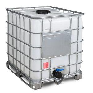 Container IBC reconditionat palet otel 1000 litri Ø 225