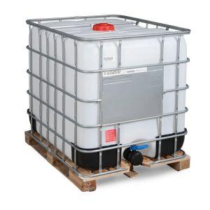 Container IBC-UN reconditionat palet lemn 1000 litri Ø 150