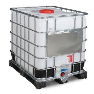 Container IBC-UN reconditionat cu palet PE 1000 litri Ø 225