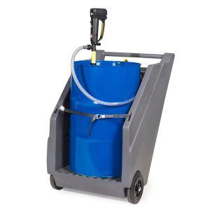 Unitate mobila pompa cu baterii substante chimice