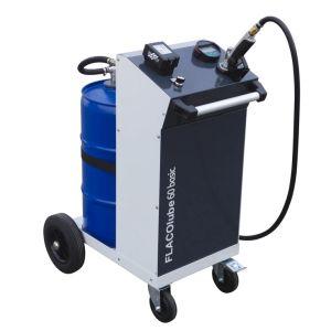 Unitate mobila pompa cu baterie ulei BASIC 60 litri