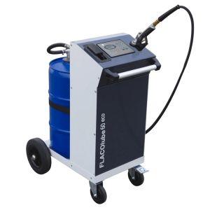 Unitate mobila pompa cu baterie ulei ECO 60 litri