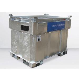 Statie mobila alimentare motorina 450 l otel 230 V