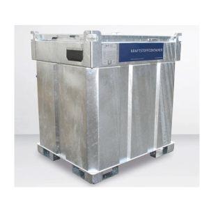 Statie mobila alimentare motorina 700 l otel 230 V