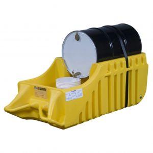 Statie de umplere PE galbena butoi 200 litri