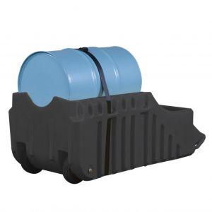 Statie de umplere PE neagra butoi 200 litri