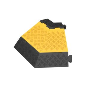 Protectie cu capac 3 canale 45° stanga