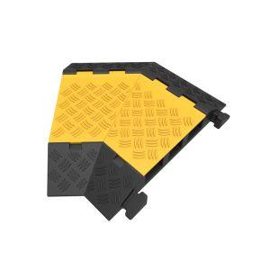 Protectie cu capac 3 canale 45° dreapta