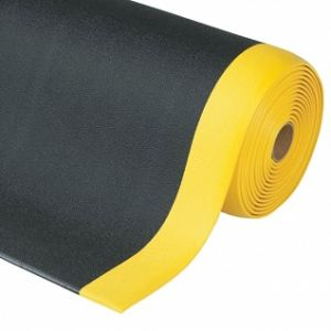 Covor antioboseala Sof-Tred Black-Yellow