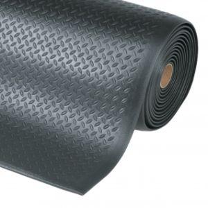 Covor antioboseala Diamond Sof-Tred Black