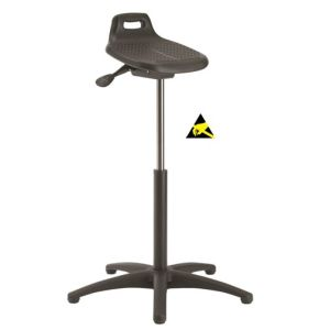 Scaun ESD antioboseala ErgoPerfect Sit/Stand