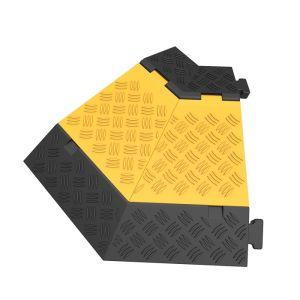 Protectie cu capac 5 canale 45° stanga