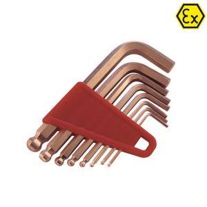 Set chei imbus ATEX cupru-beriliu, 2-10mm
